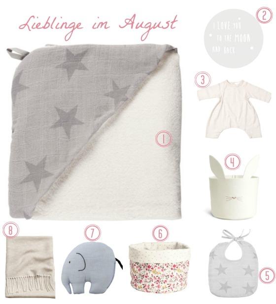 Lieblinge_August