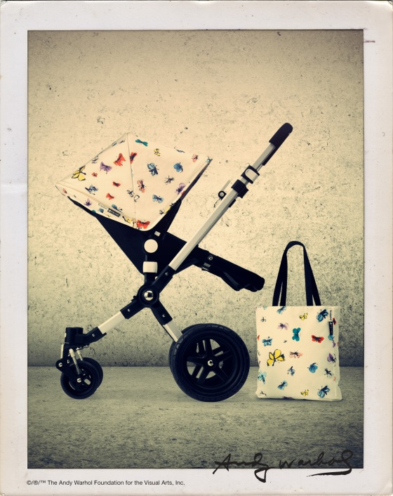 Bugaboo Andy Warhol Retrospective Collection - Butterfly