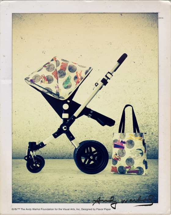 Bugaboo Andy Warhol Retrospective Collection - Globetrotter