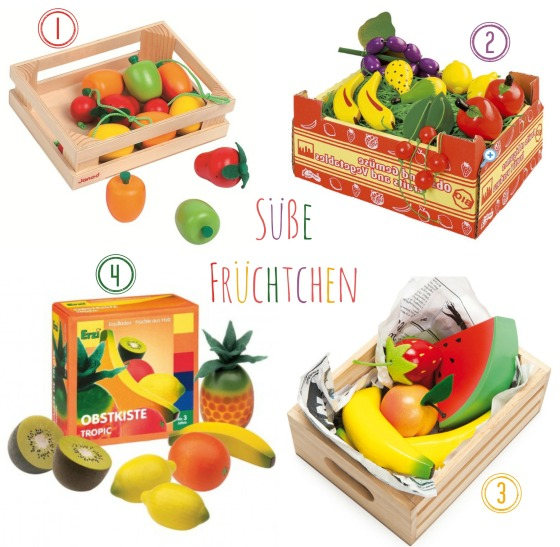 Obst-Spielzeug