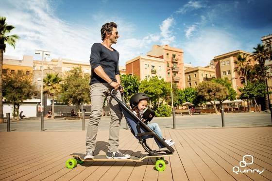 Quinny Longboard Stroller 1