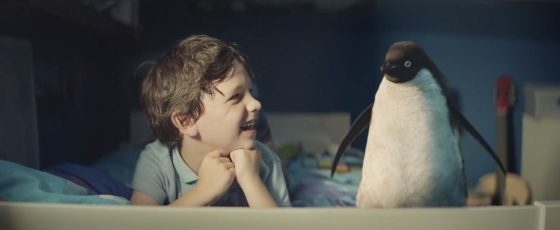 Monty the Penguin - John Lewis Christmas 2014