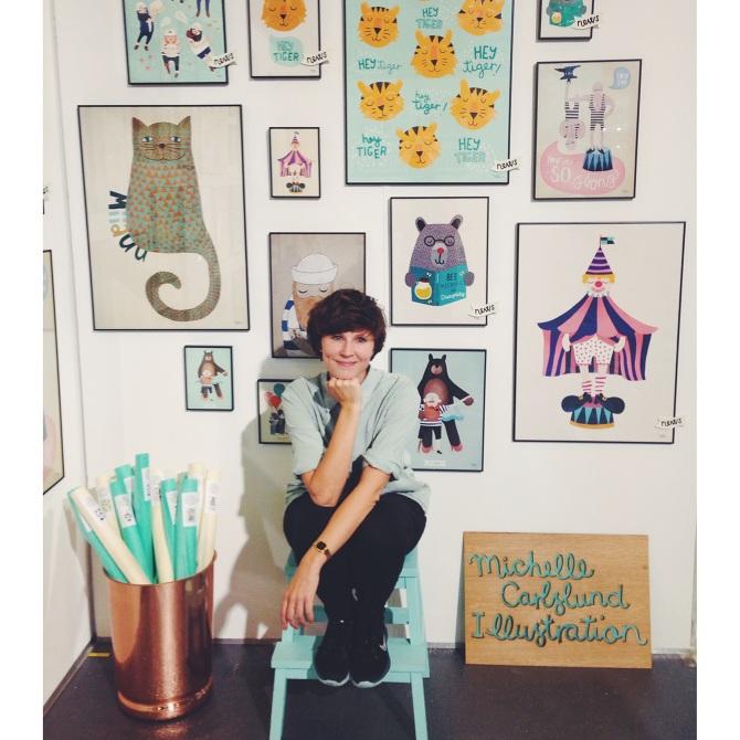 Künstlerin Michelle Carlslund & ihre Werke