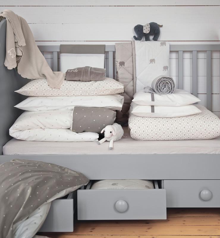 Ikea Babytextilkollektion CHARMTROLL
