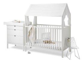 Stokke Home Bett und Wickeltisch Weiß - Pretababy