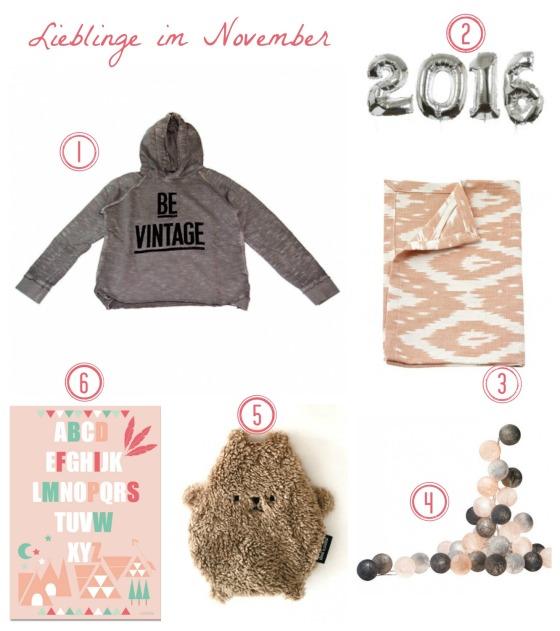 Lieblinge_November